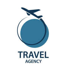 travel logo image vector image