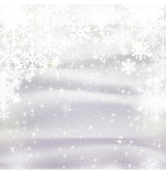 background for Christmas and winter holiday card vector image vector image