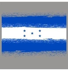 Flag of Honduras vector image