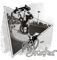PRo Skater vector image vector image
