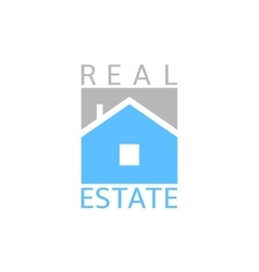Real estate icon vector image vector image