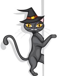 Hallowen cat vector
