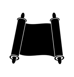 Jewish torah icon vector