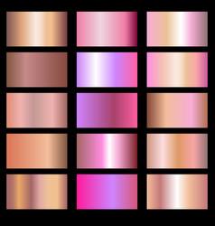 Metals gradients vector