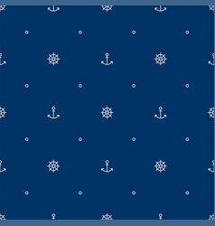 ocean seamless pattern for print fabric or paper vector image