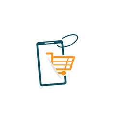 Shopping online shop marketplace buy sell digital vector