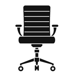 wheel chair desk icon simple style vector image