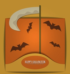 With halloween and scyte vector