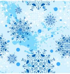 snowflakes design vector image vector image