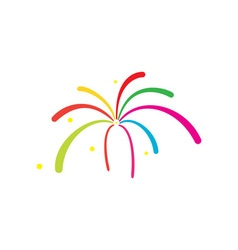 Fireworks-380x400 vector image vector image