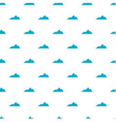 Tall mountain pattern seamless vector