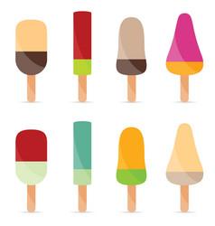 Ice cream flavour food vector