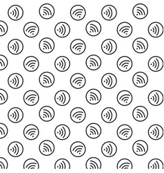 wifi icon background vector image