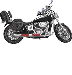 Motorcycle a vector