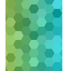 Abstract hexagonal tile mosaic background design vector
