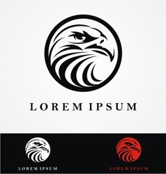 Eagle Head Logo Design vector