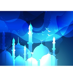 Eid festival background vector