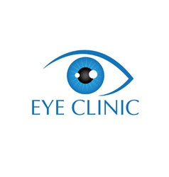 Eye vision design template vector image