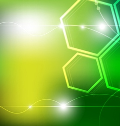 green technology vector image vector image
