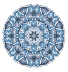 Ornate eastern mandala vector