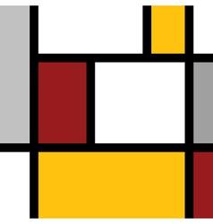 Proportional square art vector