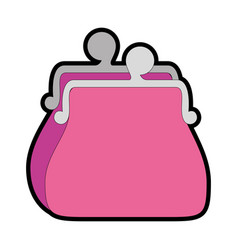 Purse icon image vector