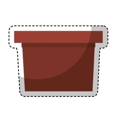 Speech podium isolated icon vector