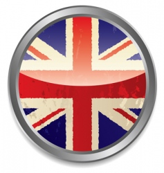 British flag icon vector image vector image