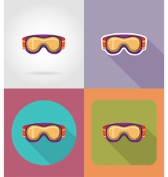 sport flat icons 31 vector image