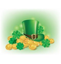 St Patricks Day symbolics vector image vector image