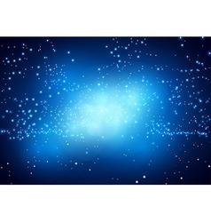 Blue nebula vector