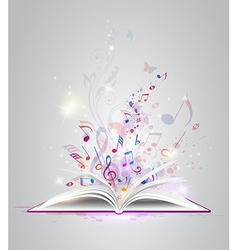 Book note vector