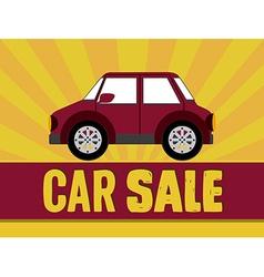 Buy a Car design vector