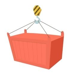 Crane icon cartoon style vector
