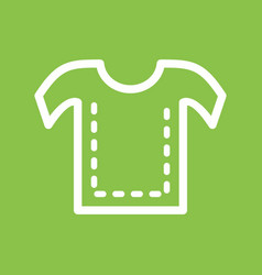 Sewing lines vector