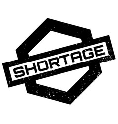 shortage rubber stamp vector image