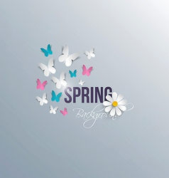 spring background 5 vector image