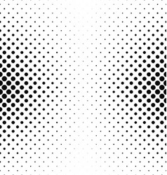 Abstract monochrome circle pattern background vector image