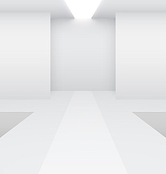 fashion runway vector image
