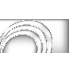 3d circle modern abstract background vector