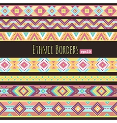 Ethnic borders tropic vector