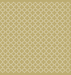 gold and white seamless pattern background vector image