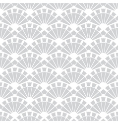 Gray Fans Texture Seamless Pattern vector