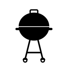 Grill bbq isolated icon vector
