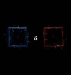 Isolated of versus screen vector