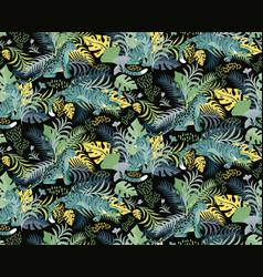 Leopard and tiger pattern flat color design vector