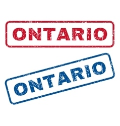 Ontario Rubber Stamps vector
