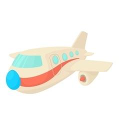 Plane icon cartoon style vector image