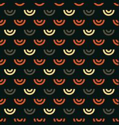 shell geometric seamless pattern vector image