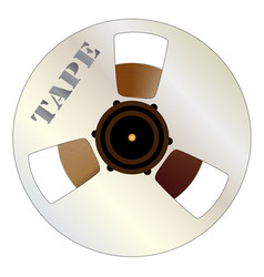 Tape spool vector